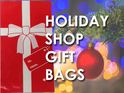 Santa Shop Gift Bags for School Gift Shop Wrapping