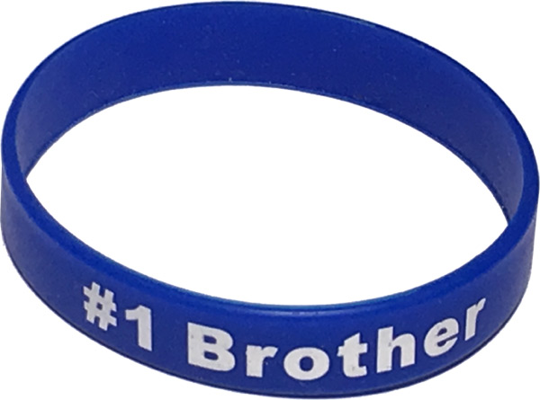 Best Brother Band Bracelet - Brother Gifts - School Shop Smart