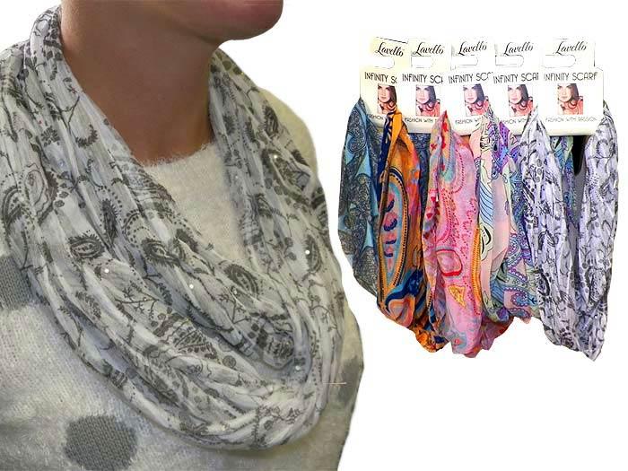 Infinity Fashion Scarf - Gifts For Women - School Shop Smart