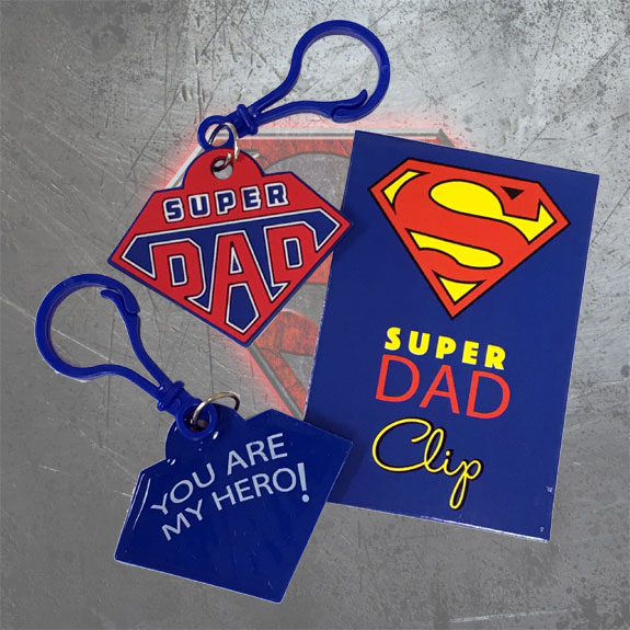Super Dad Clip - Gifts for Dads - School Shop Smart