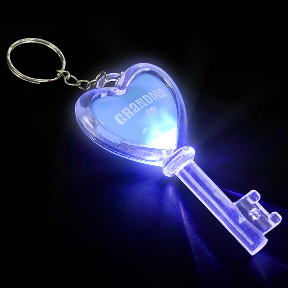 Grandma Flashing Key Chain - Grandma Gifts - School Shop Smart