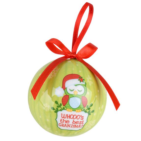 Grandma Owl Ornament - Grandma Gifts - School Shop Smart
