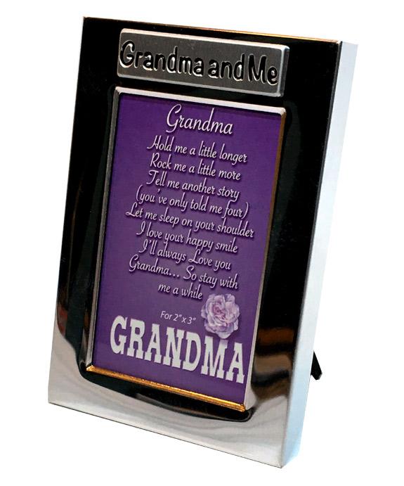 Grandma and Me Silver Photo Frame