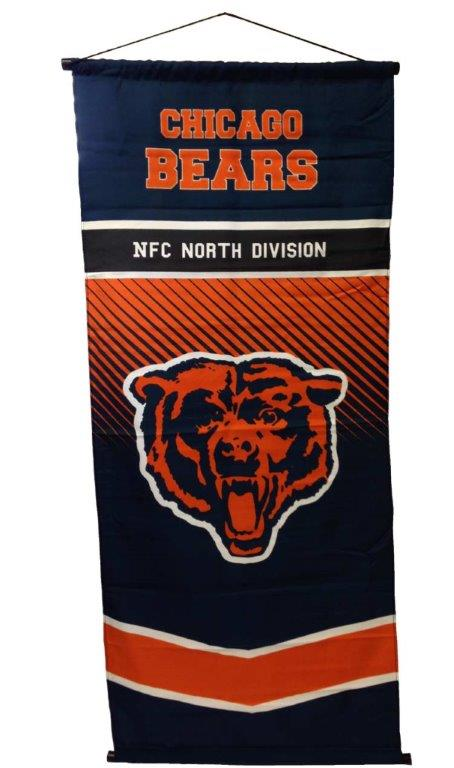 Chicago Bears NFL Team Banner - Sports Team Logo Gifts - School Shop Smart