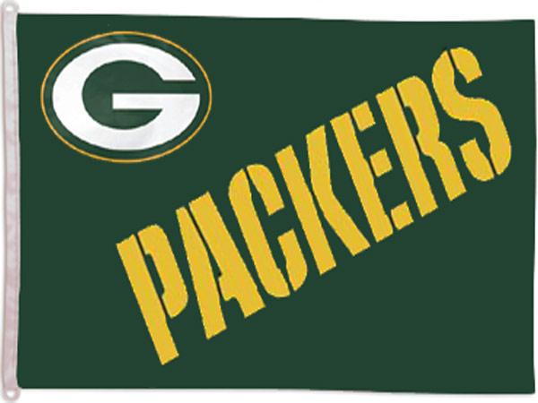 Green Bay Packers Banner Flag - Sports Team Logo Gifts - School Shop Smart