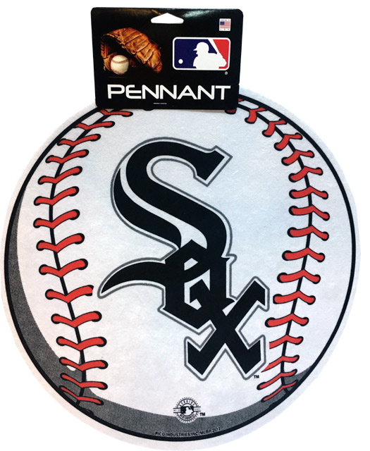 Chicago White Sox MLB Pennant - Sports Team Logo Gifts - School Shop Smart