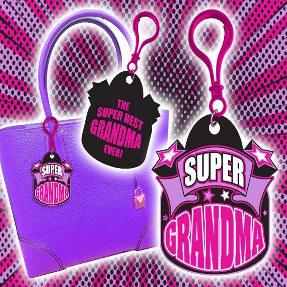 Super Grandma Clip - Grandma Gifts - School Shop Smart