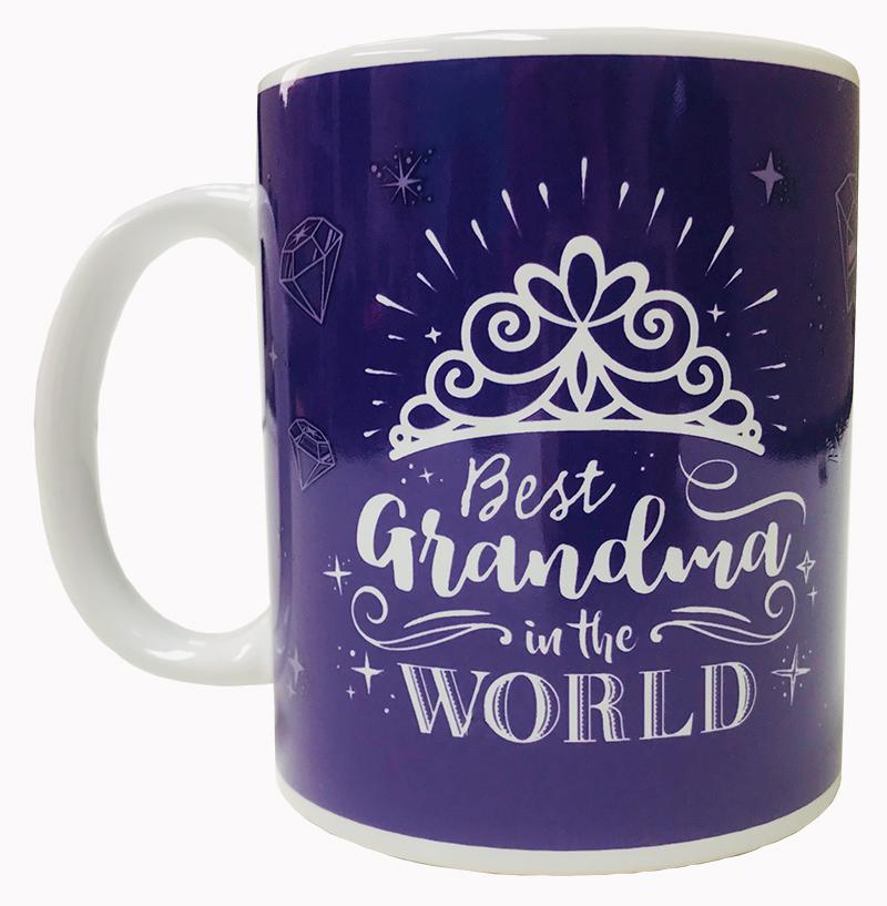 "Grandma Mug ""Best in the World"" - Grandma Gifts - School Shop Smart"