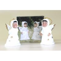 Porcelain Angel Bells Set of 2 - Christian Gifts - School Shop Smart