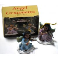 African American Angel Ornaments - Christian Gifts - School Shop Smart