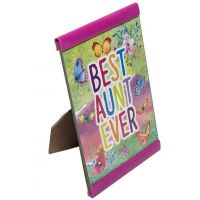 Best Aunt Ever Plaque - Aunt Gifts - School Shop Smart