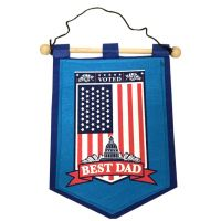 Dad Banner on Wooden Rod - Gifts for Dads - School Shop Smart