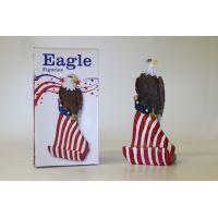 American Eagle Cell Phone Holder Figurine - Gifts For Everyone Else - School Shop Smart