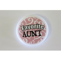 Favorite Aunt Pin - Aunt Gifts - School Shop Smart