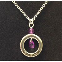 Grandma Circle Necklace on Card - Grandma Gifts - School Shop Smart