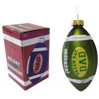 Green Bay Dad Rocks Football Ornament - Gifts for Dads - School Shop Smart