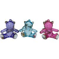Crystal Like Bear Keychain - Boys & Girls Gifts - School Shop Smart