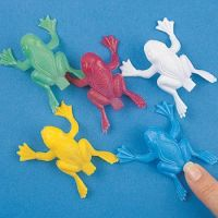 Plastic Jumping Frogs - Boys & Girls Gifts - School Shop Smart
