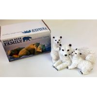 Polar Bear Family Figurine - Gifts For Women - School Shop Smart