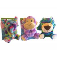 Safari Plush Animal Baby Rattle - Gifts for Babies - School Shop Smart