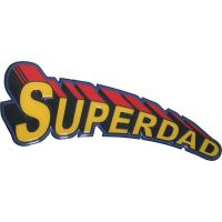 Super Dad Sign - 18 Inch - Gifts for Dads - School Shop Smart