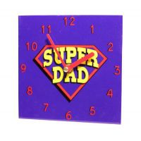 Super Dad Wall Clock - Gifts for Dads - School Shop Smart