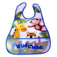 Wild Kid Pocket Baby Bib - Gifts for Babies - School Shop Smart
