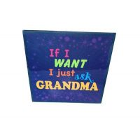 Grandma Ceramic Plaque - Grandma Gifts - School Shop Smart
