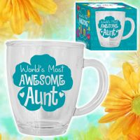 Awesome Aunt Glass Mug