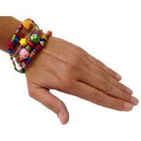 Set of 5 - Beadtastic Bead Bracelet Multi Charm - Jewelry Gifts - School Shop Smart