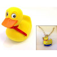 Duck Pendant - Jewelry Gifts - School Shop Smart