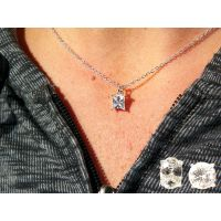 Genuine Cubic Zirconia Pendant in Blue Box - Jewelry Gifts - School Shop Smart