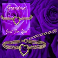 Grandma ''Just for You'' Bracelet