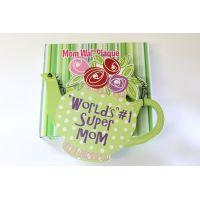 #1 Mom Teapot Wall Plaque - Gifts for Moms - School Shop Smart