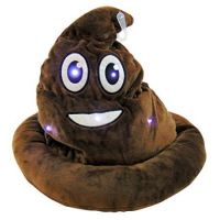 Light Up Emoticon Poo Hat - Boys & Girls Gifts - School Shop Smart