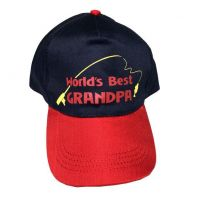 Worlds Best Grandpa Cap - Grandpa Gifts - School Shop Smart