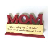 Mom Polystone Plaque - Gifts for Moms - School Shop Smart