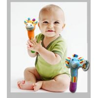 Animal Baby Rattle Plush - Gifts for Babies - School Shop Smart
