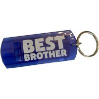 Best Brother Whistle Key Chain - Brother Gifts - School Shop Smart
