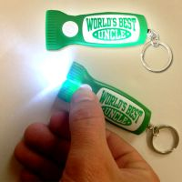 Best Uncle Flashlight Key Chain - Uncle Gifts - School Shop Smart