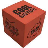 Cool Sister Foam Dice - Sister Gifts - School Shop Smart