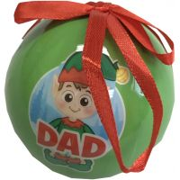 Dad Elf Ornament - Gifts for Dads - School Shop Smart