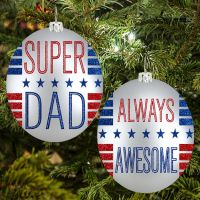 Super Dad Ornament - Gifts for Dads - School Shop Smart