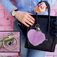 Grandma Plush Heart Key Chain - Grandma Gifts - School Shop Smart
