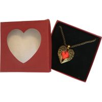 Red Heart with Wings - Jewelry Gifts - School Shop Smart