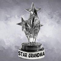Star Grandma Trophy - Grandma Gifts - School Shop Smart