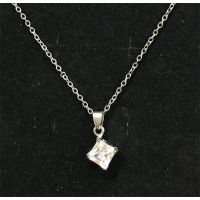 Diamond Pendant Necklace - Jewelry Gifts - School Shop Smart