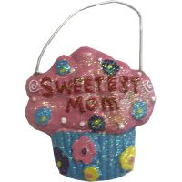 Sweetest Mom Ornament - Gifts for Moms - School Shop Smart