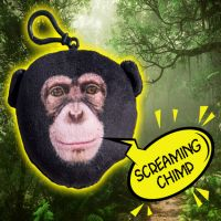 Talking Chimp Clip-on - Boys & Girls Gifts - School Shop Smart