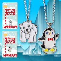 Holiday Necklace (Penguin Polar Bear) - Christmas - Holiday Gifts - School Shop Smart
